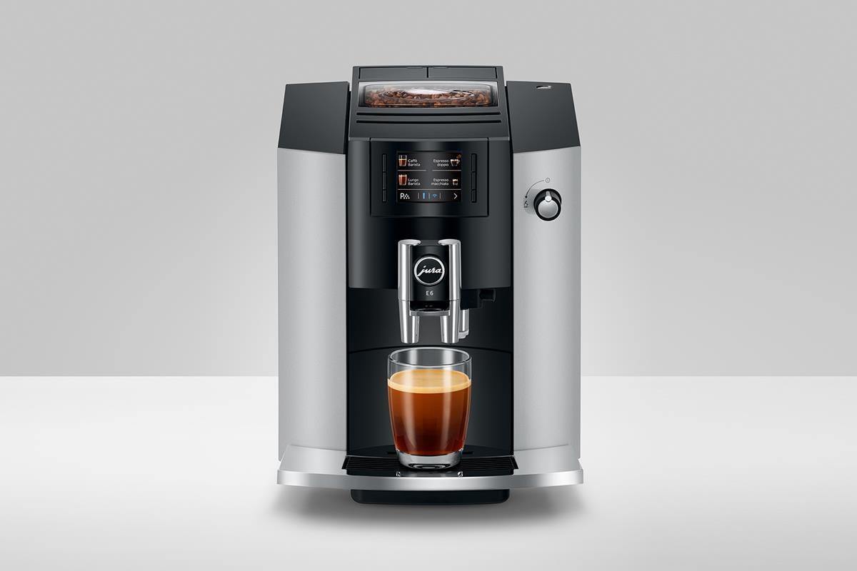 Ekspres do kawy Jura E6 - Platinum