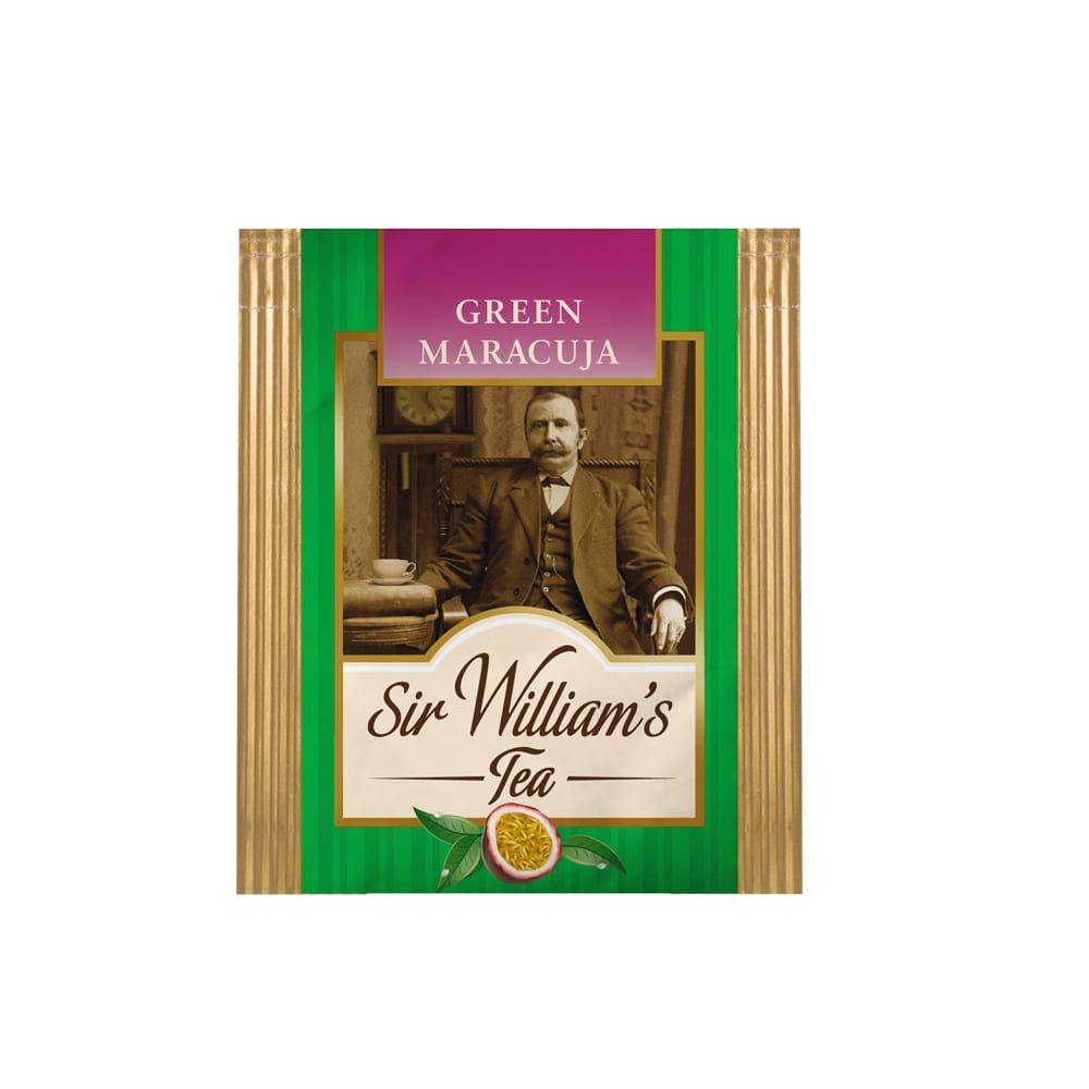 Herbata Sir William's - GREEN MARACUJA (saszetka)