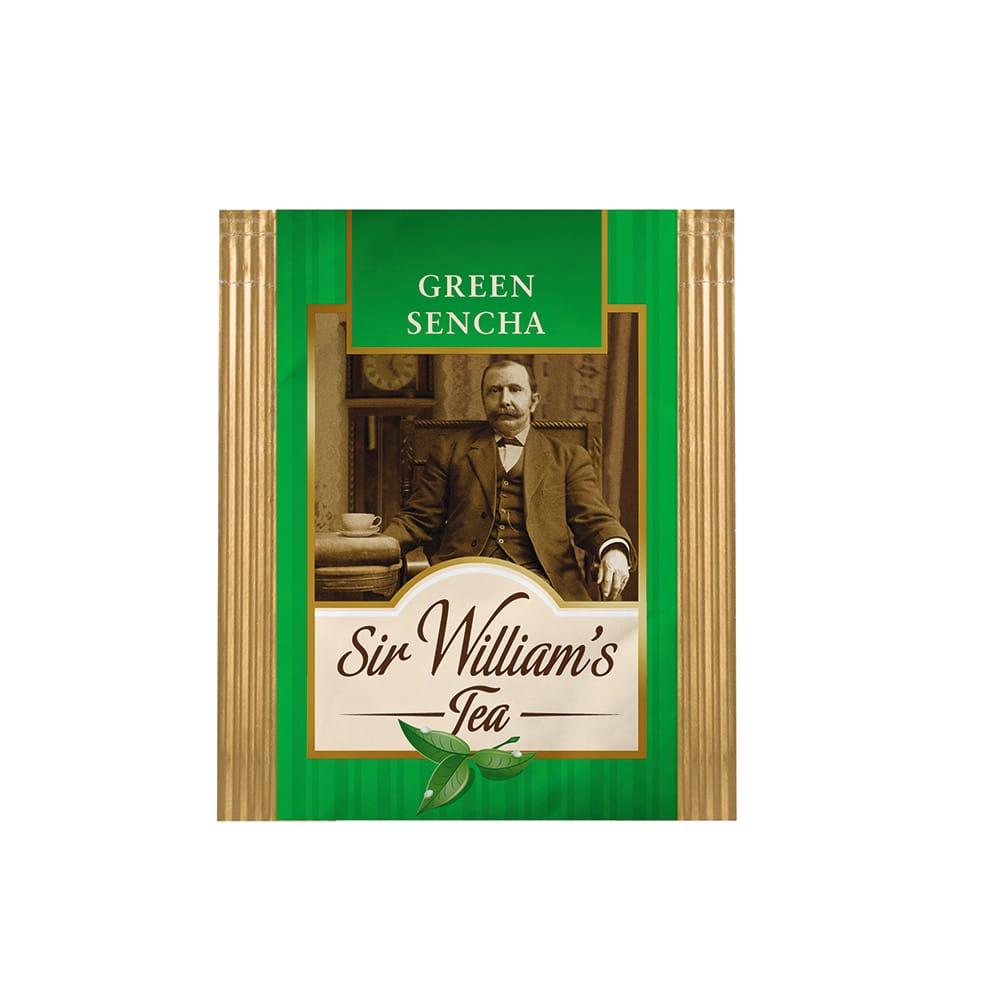 Herbata Sir William's - GREEN SENCHA (saszetka)