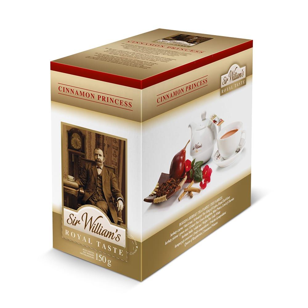 Herbata Sir William's ROYAL TASTE – CINNAMON PRINCESS