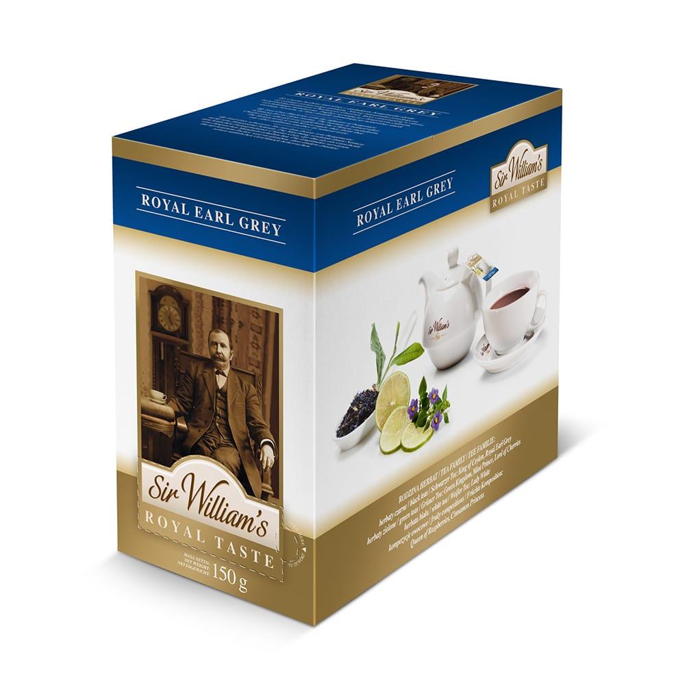 Herbata Sir William's ROYAL TASTE – EARL GREY