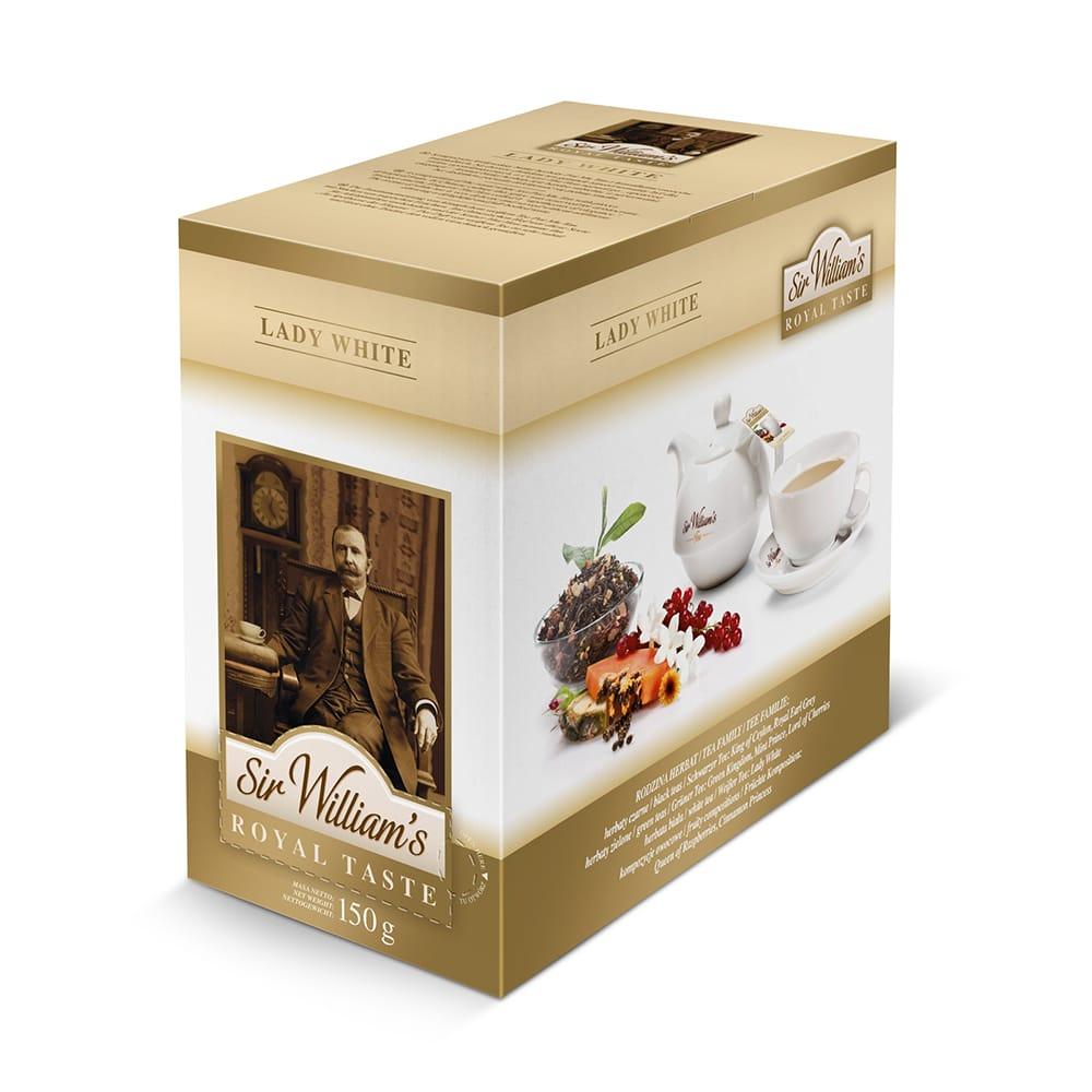 Herbata Sir William's ROYAL TASTE – LADY WHITE