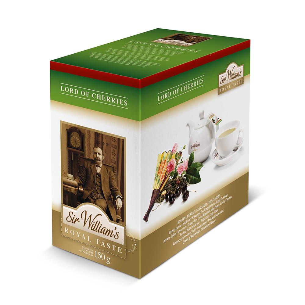 Herbata Sir William's ROYAL TASTE – LORD OF CHERRIES