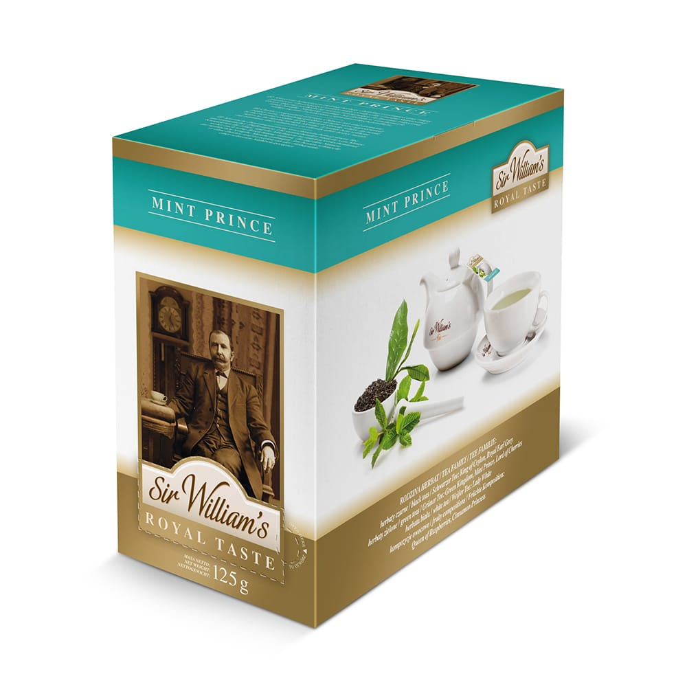 Herbata Sir William's ROYAL TASTE – MINT PRICE