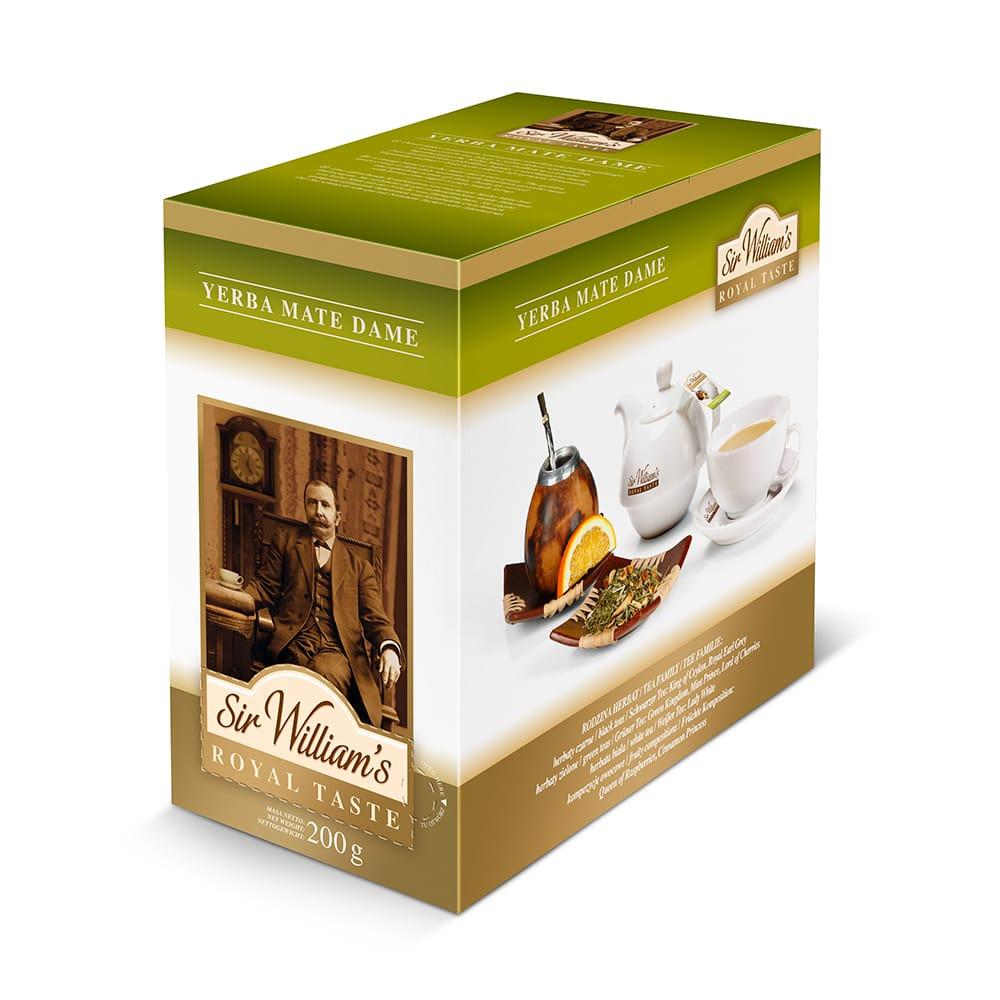 Herbata Sir William's ROYAL TASTE – YERBA MATE DAME
