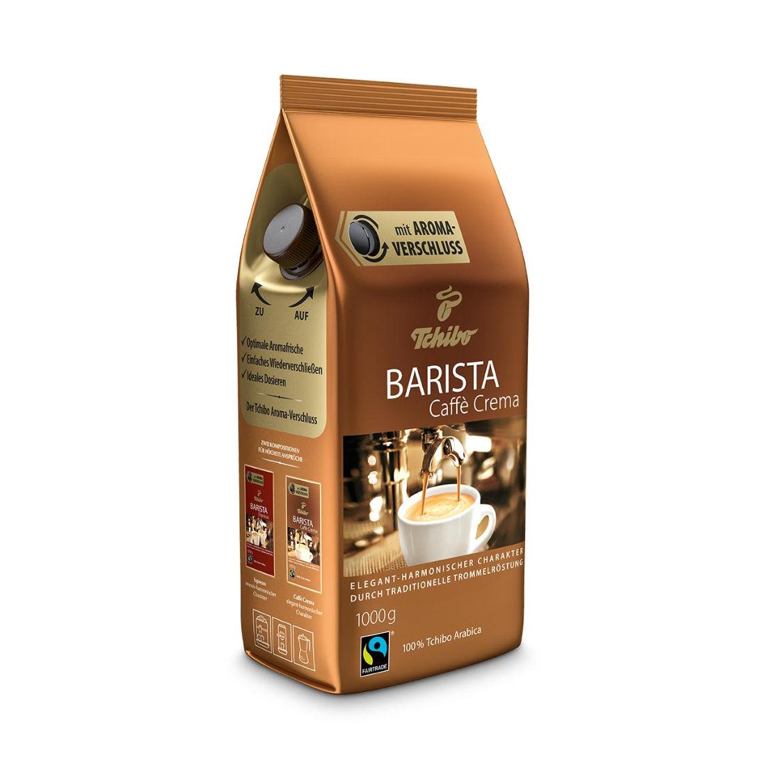 kawa ziarnista Tchibo Barista Caffe Crema