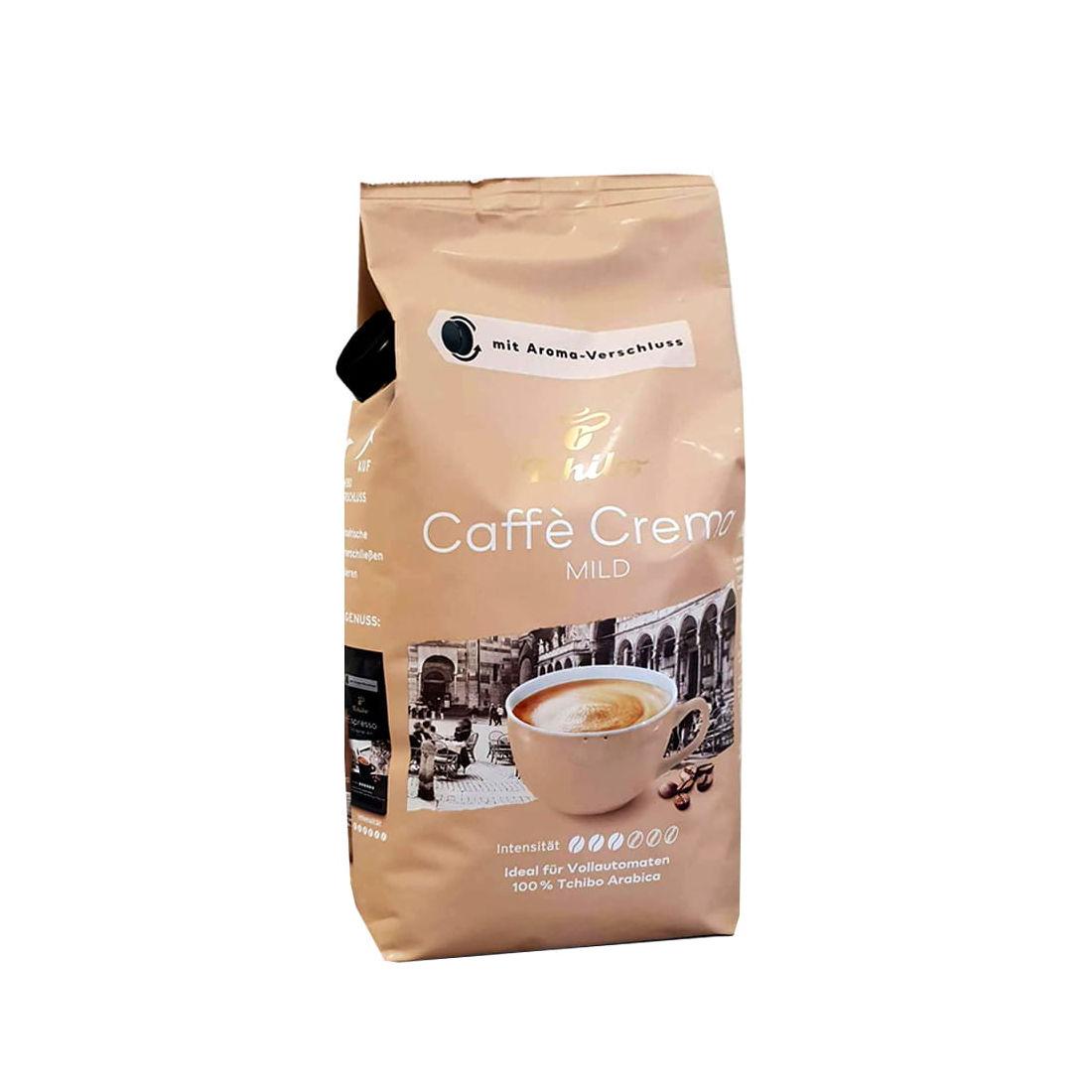kawa ziarnista Tchibo Cafe Crema Mild