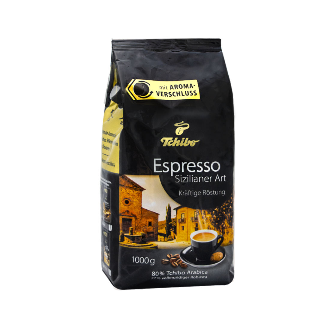 kawa ziarnista Tchibo Espresso Sizilianer Art