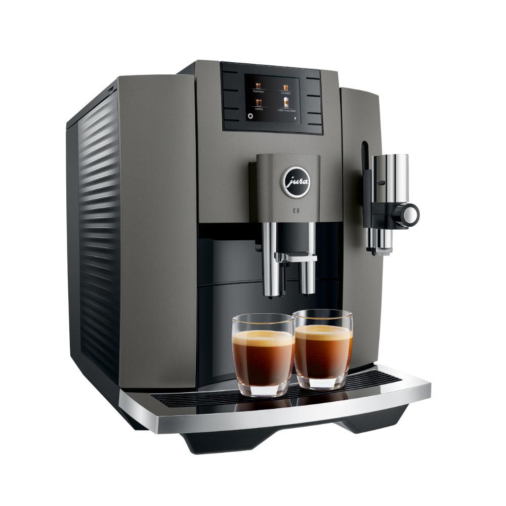 Ekspres do kawy Jura E8 (EB) – Dark Inox